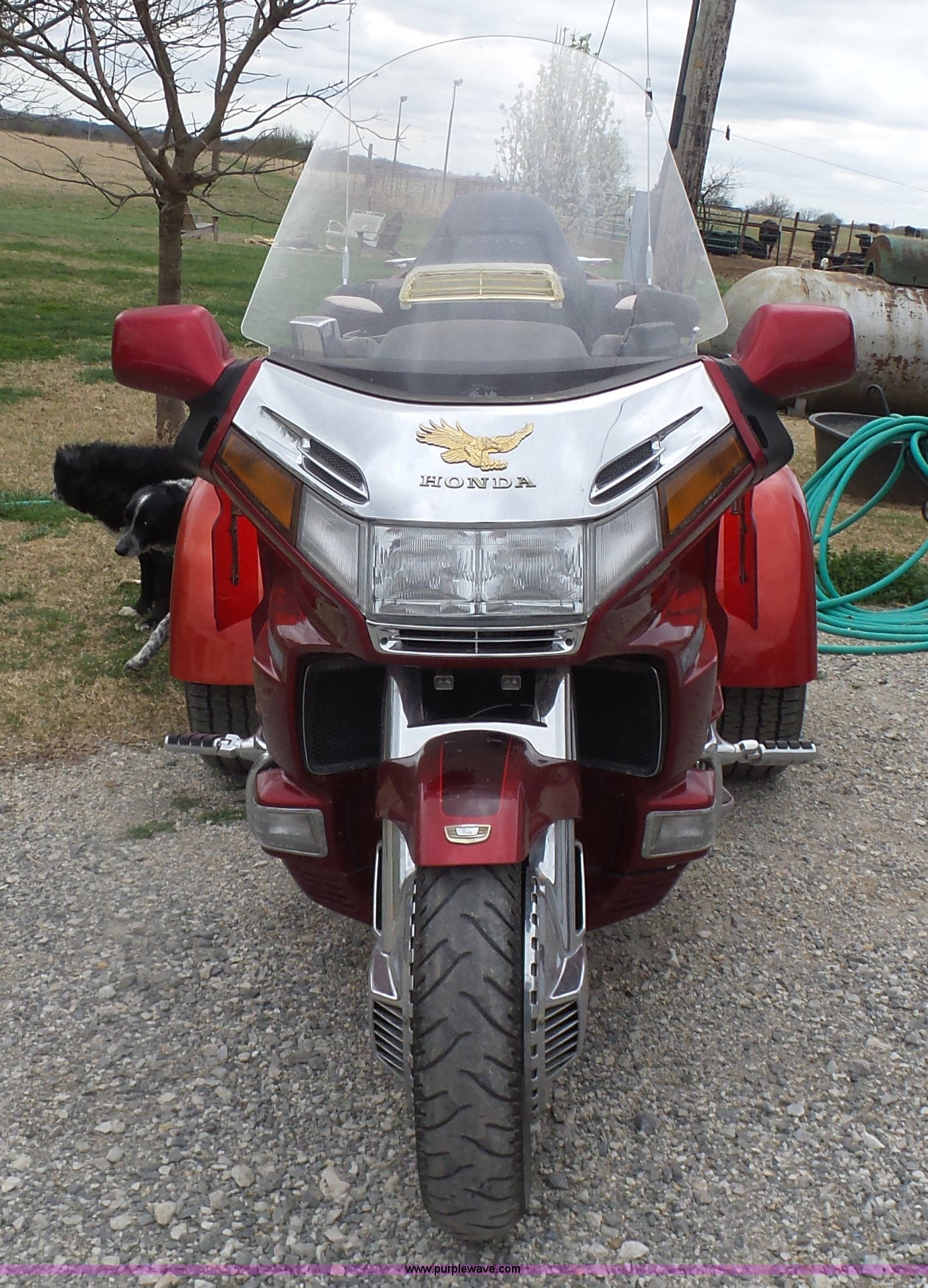 ... 1997 Honda Gold Wing GL1500SE trike motorcycle Full size in new window  ...