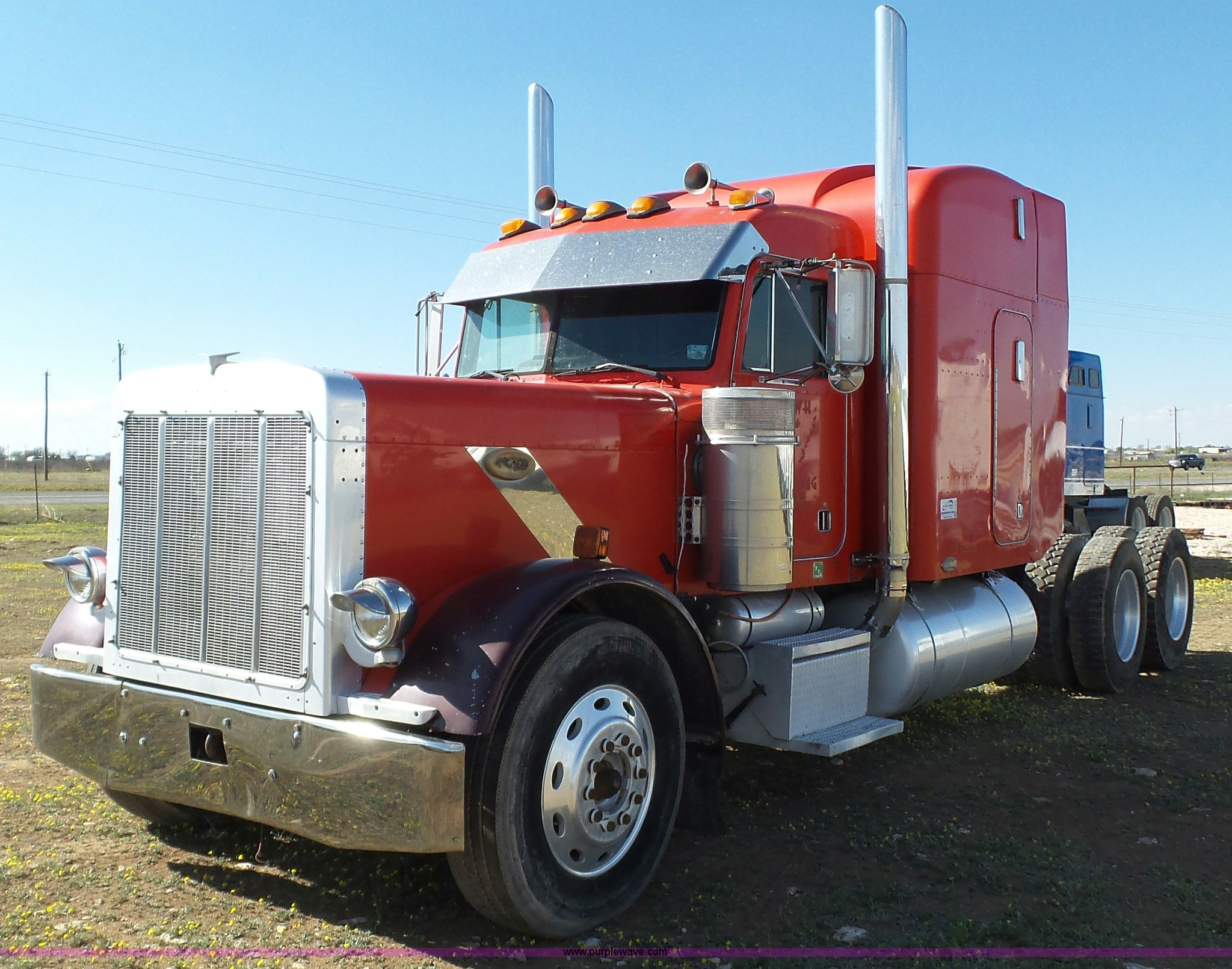 1997 Peterbilt 379 semi truck | Item L6512 | SOLD! April 21