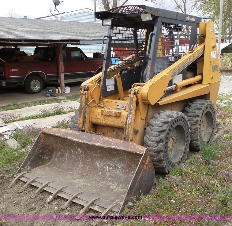 1996 Case 1840 Skid Steer Item J8983 4 28 2016