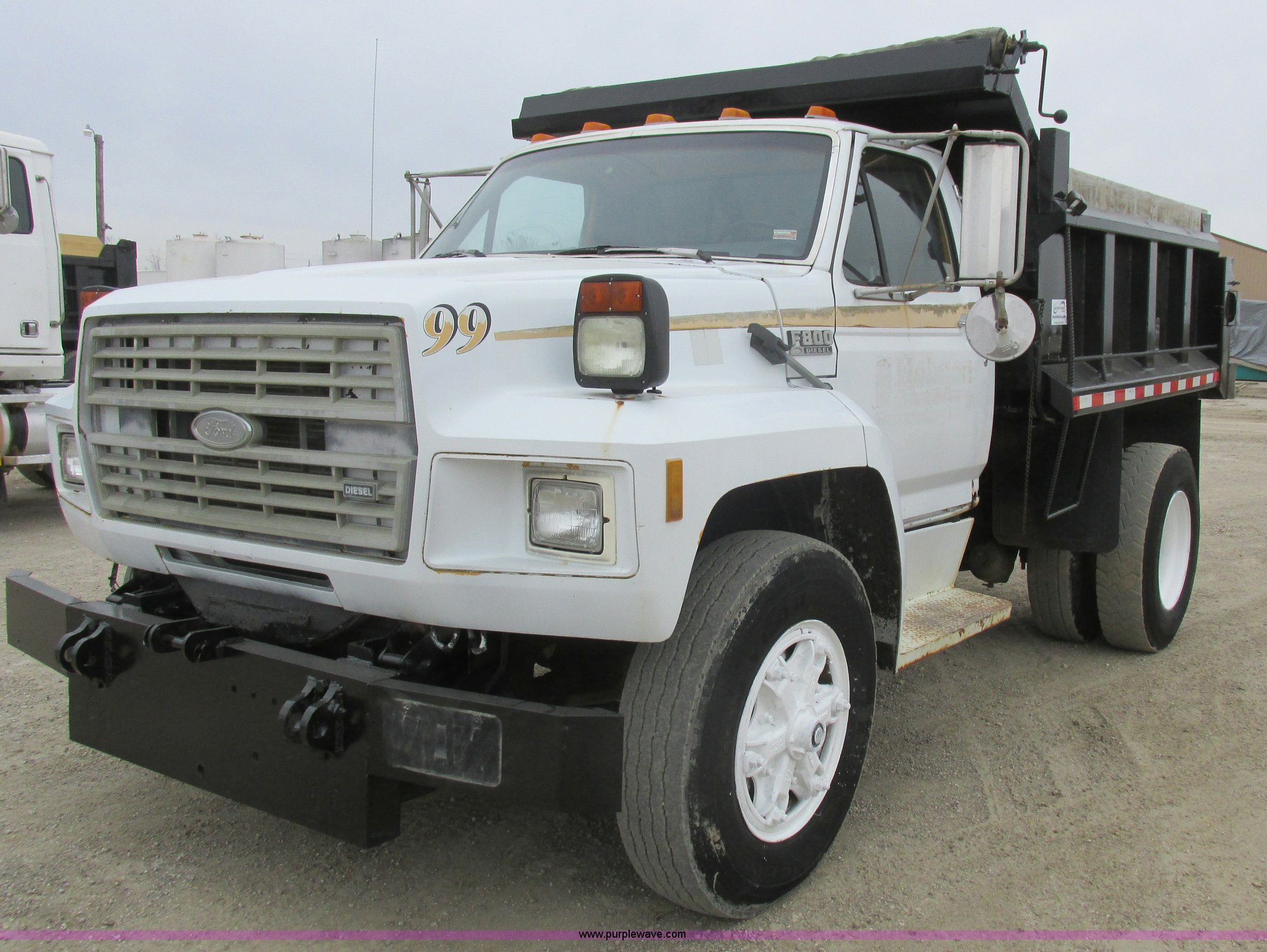 L7193 image for item L7193 1991 Ford F800 ...