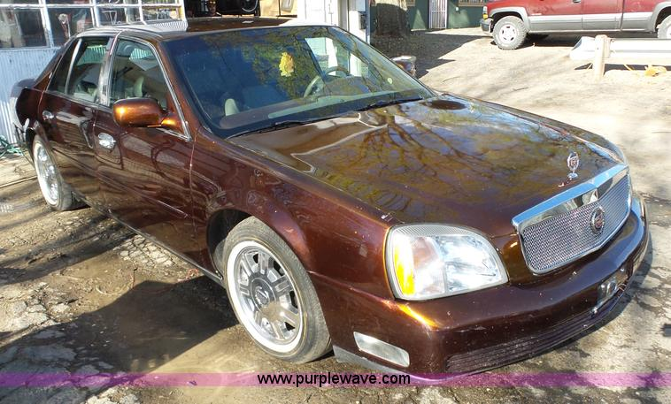 2001 cadillac deville dhs in fort scott ks item l6320 sold purple wave 2001 cadillac deville dhs in fort scott