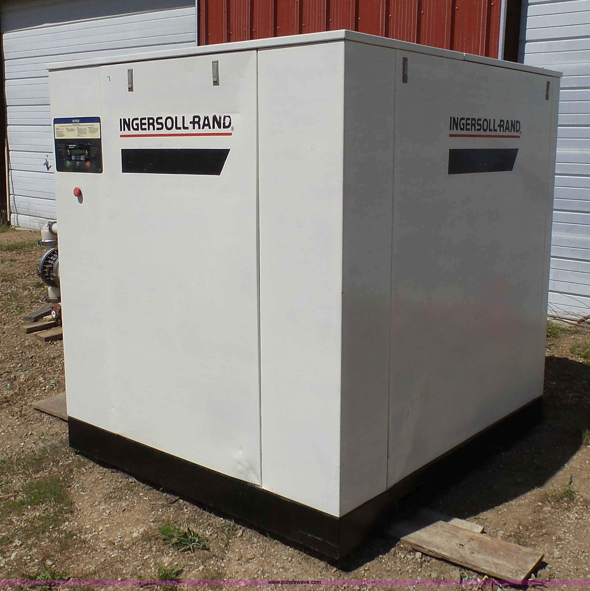 ... Ingersoll Rand SSR-EPE50 rotary screw air compressor Full size in new  window ...