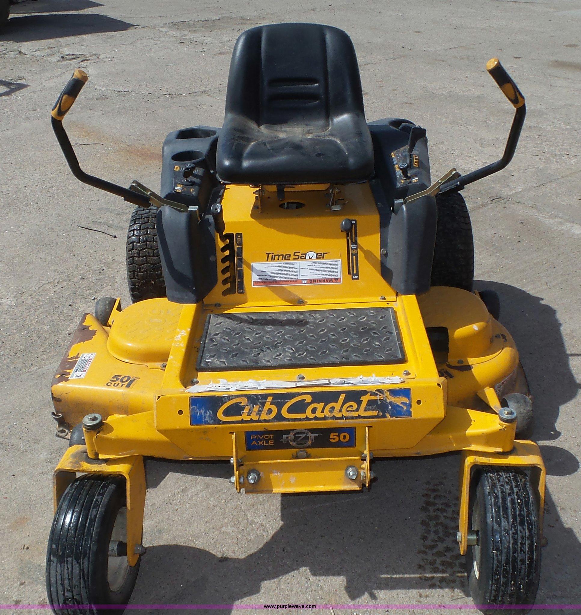 2006 Cub Cadet Rzt50 Lawn Mower Item K8263 Sold May 4 V