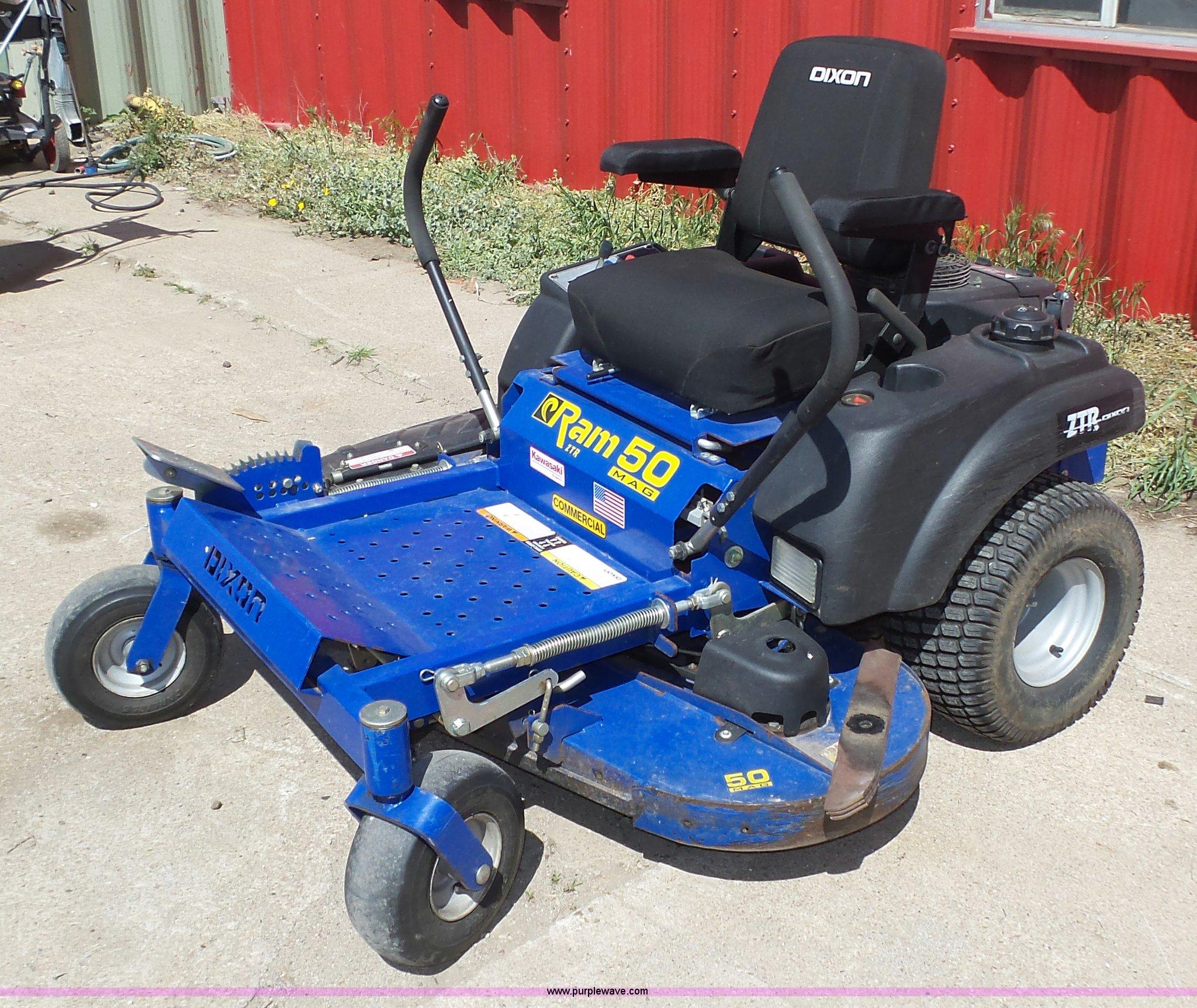 Dixon Ram 50 ZTR lawn mower in Falls City, NE | Item K8265 sold | Purple  Wave