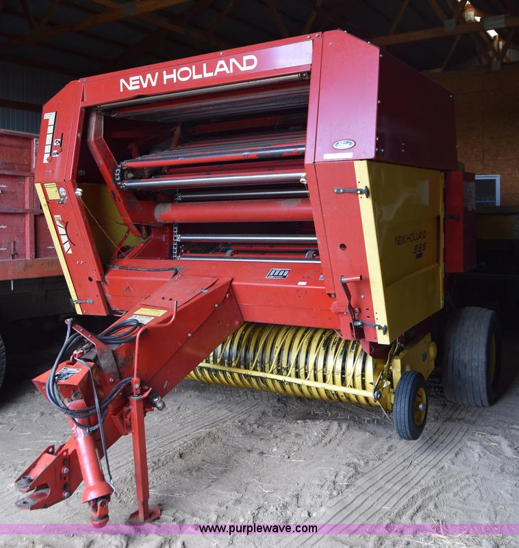 1989 New Holland 855 round baler | Item AW9876 | SOLD! May 1