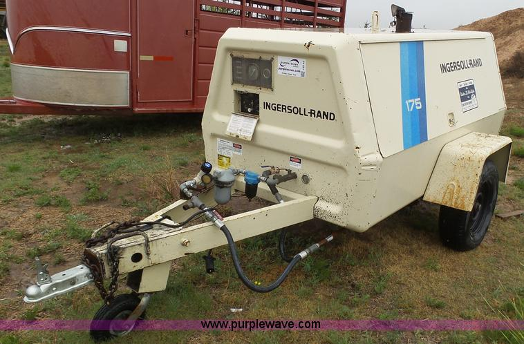 Ingersoll Rand air compressor   Item J6145   SOLD! May 12 Co
