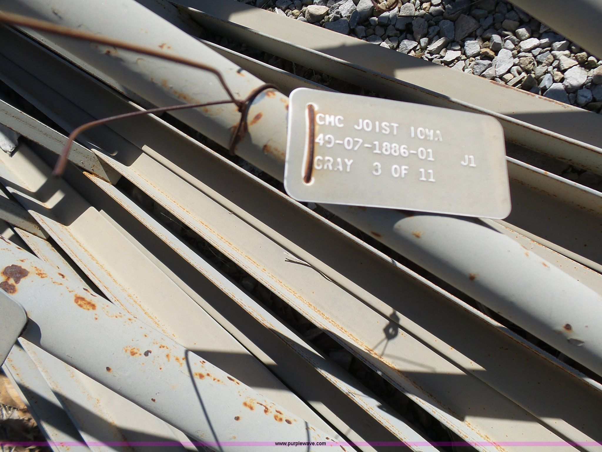 16) CMC Joist steel trusses | Item L7032 | SOLD! May 12 Con