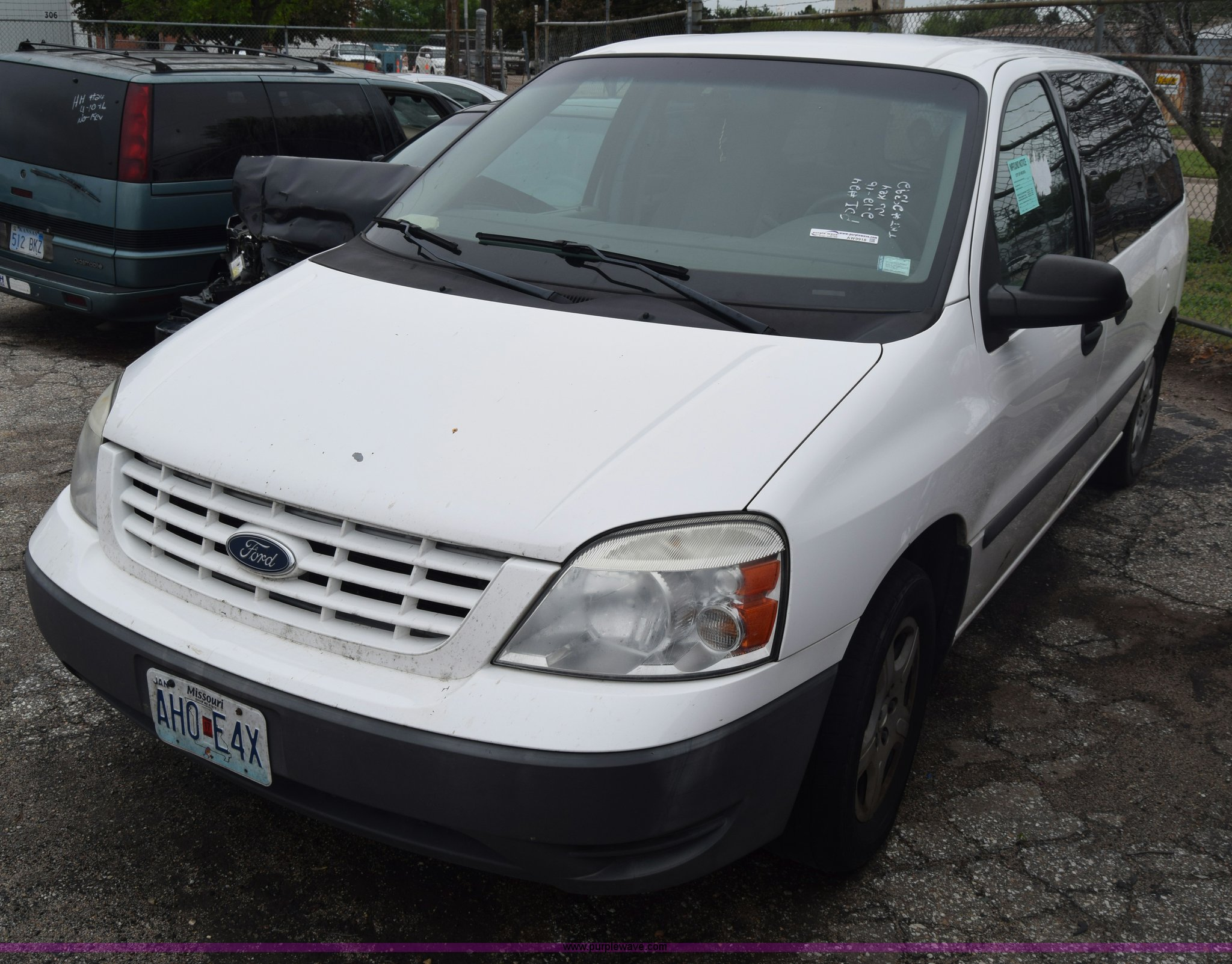 Aw9918 image for item aw9918 2005 ford freestar van