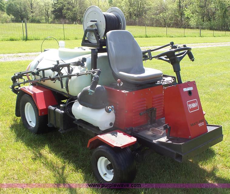 1998 Toro 1100 Multipro sprayer | Item BN9527 | SOLD! May 18... Toro Sprayer Wiring Schematic on