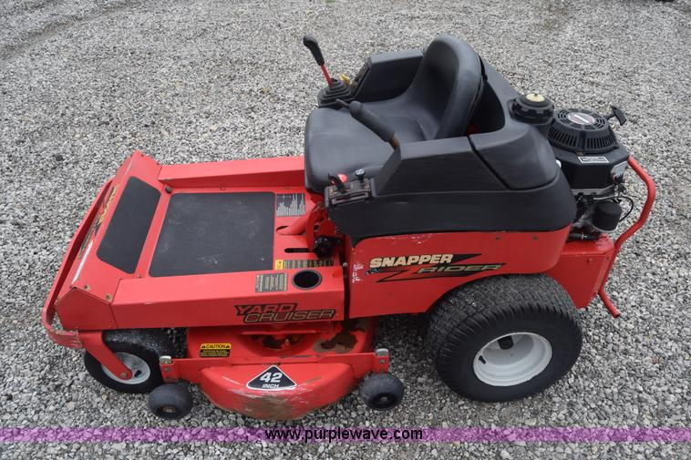 Snapper Yard Cruiser lawn mower | Item BX9999 | SOLD! May 18