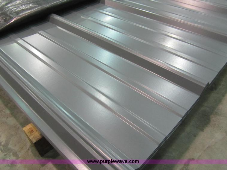 80 Sheets Of Metal Siding Roofing Item F1295 Sold