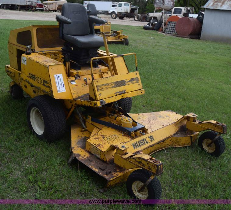 Hustler 340 mower
