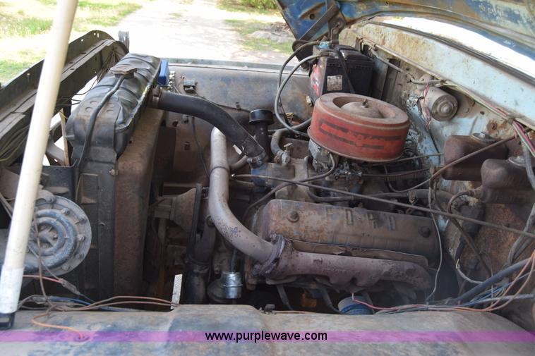 k6739 image for item k6739 1957 ford f600 flatbed truck
