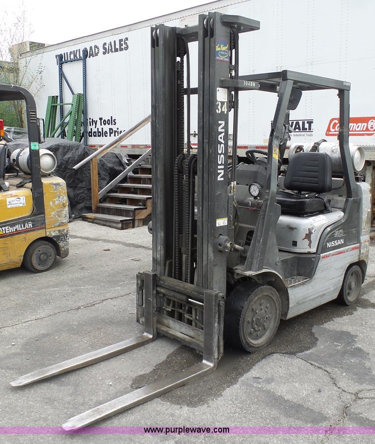 Nissan 50 Forklift