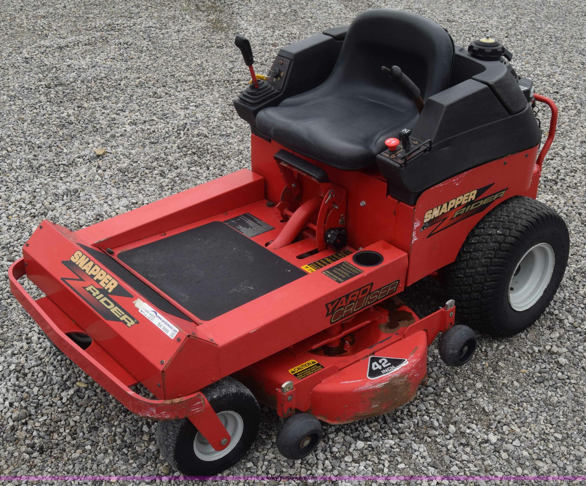 42 Snapper Riding Mower