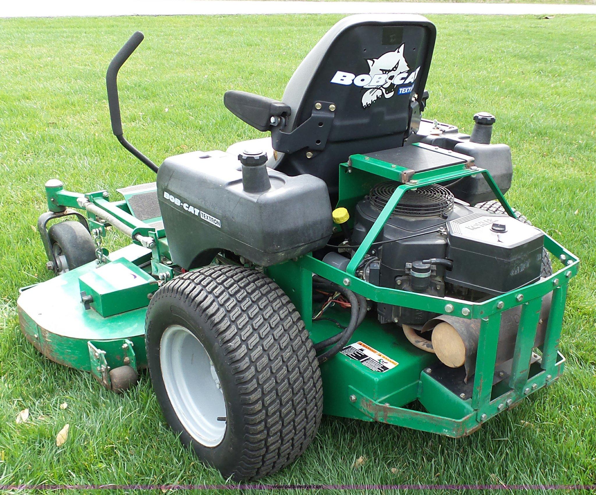 textron bobcat ztr lawn mower item k1333 sold may 18 ve rh purplewave com Textron Bobcat Mowers Parts Bobcat Textron Mower Parts Breakdown