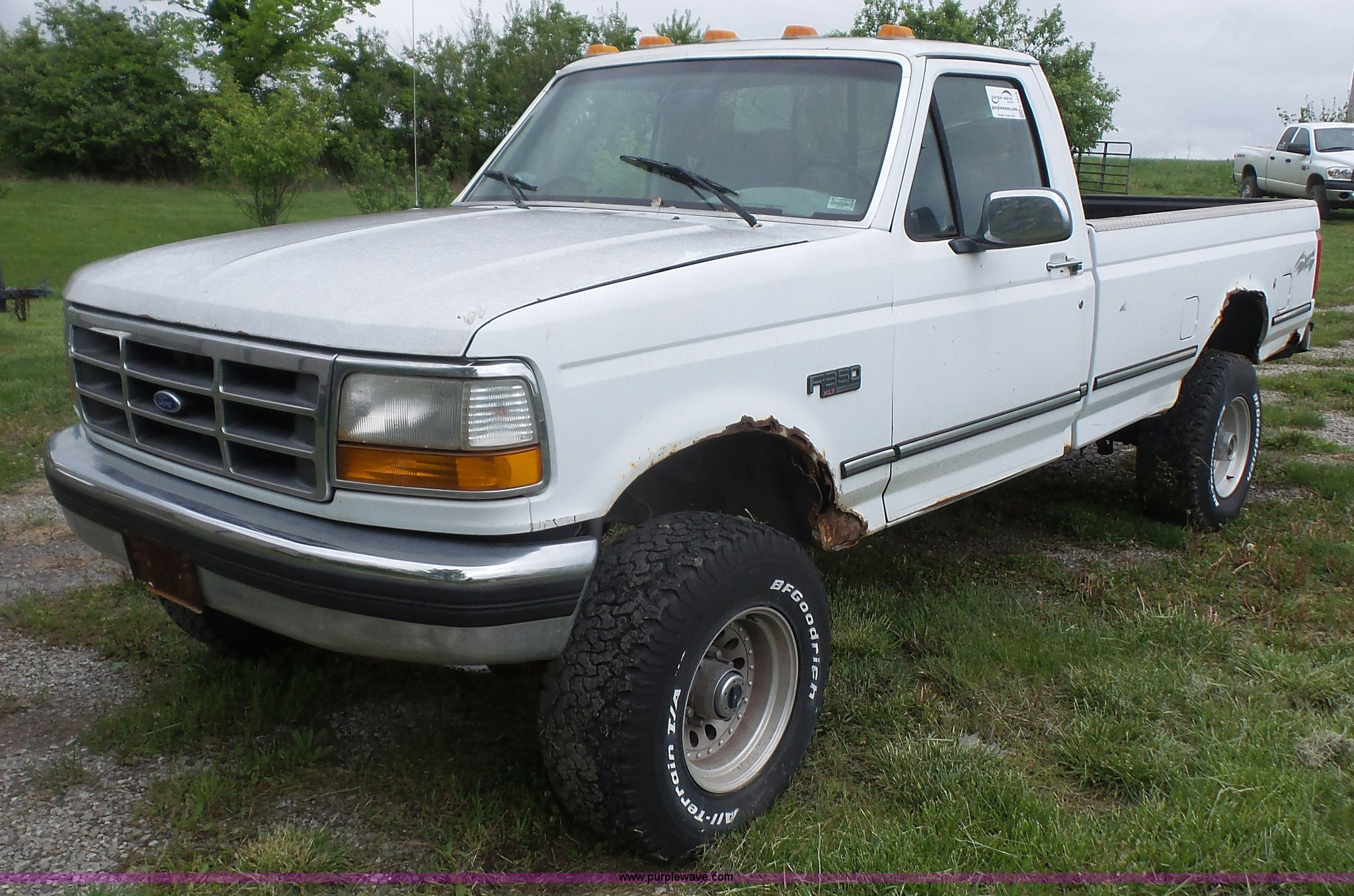 K4518 image for item k4518 1995 ford f350