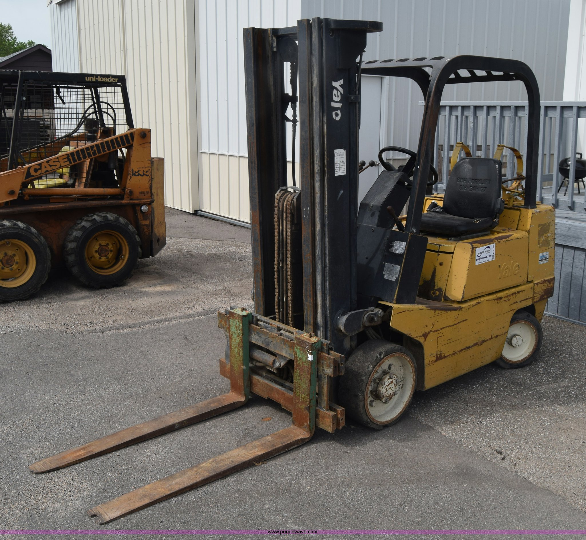 Yale GLC050 forklift | Item K6725 | SOLD! May 18 Vehicles an