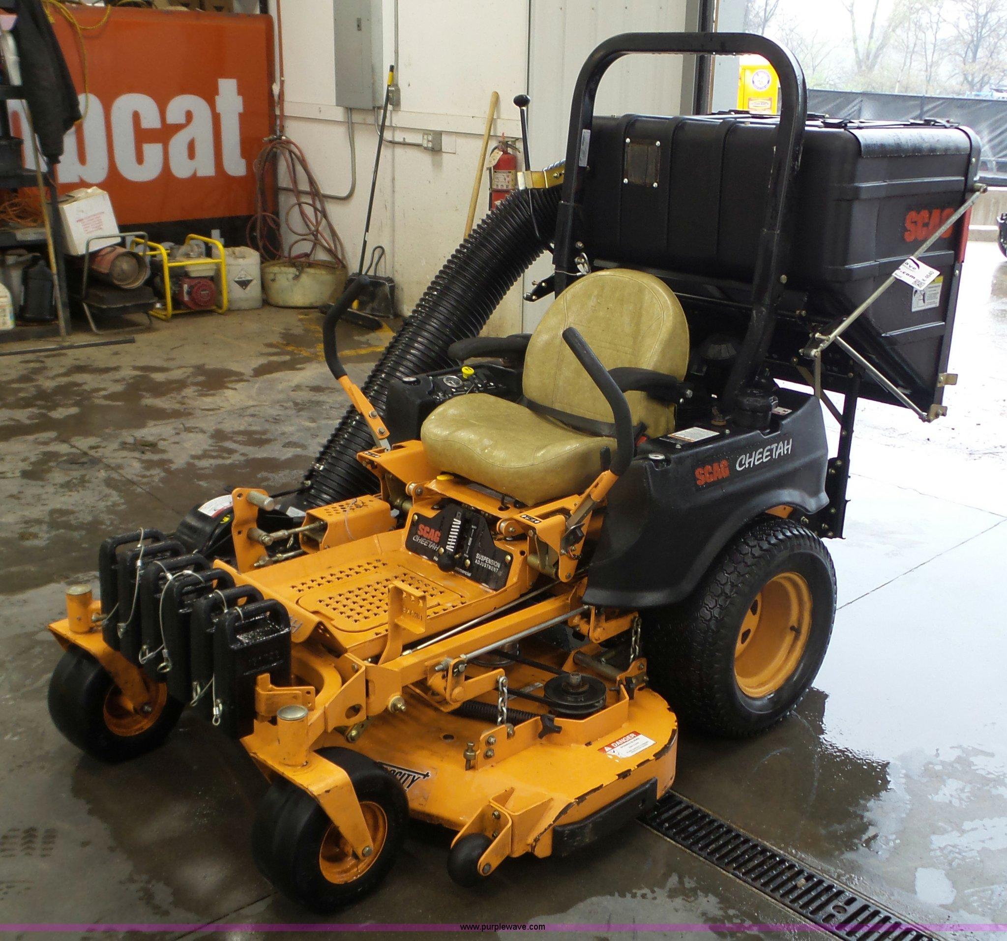 Scag Cheetah Scu52u 730fx Ztr Lawn Mower Item K4640 5