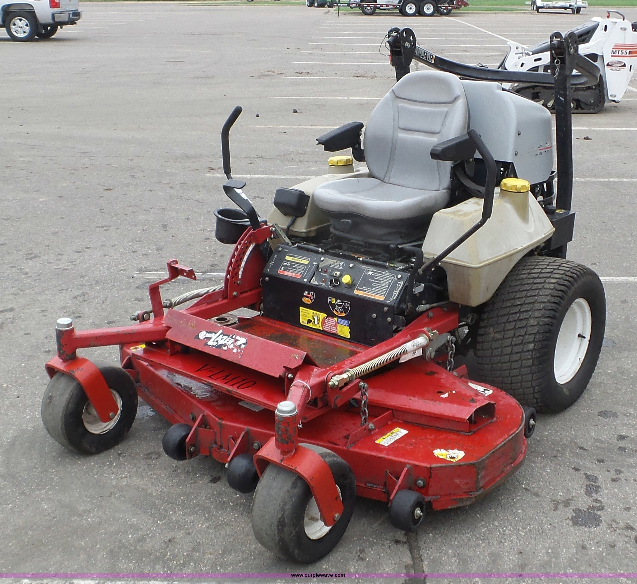 K4652 image for item K4652 Exmark Laser Z ZTR lawn mower