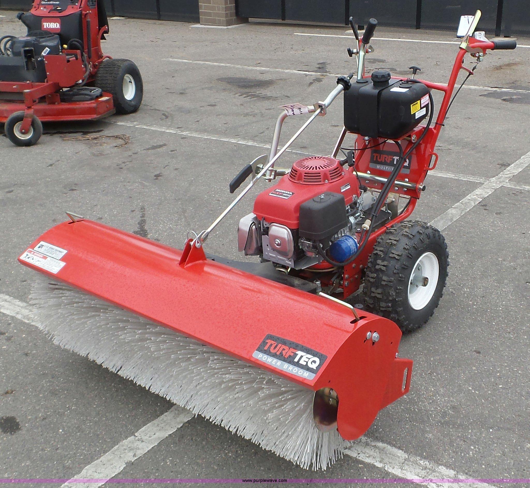 Turf Teq 1305 power broom | Item K4654 | SOLD! May 24 Tri-St