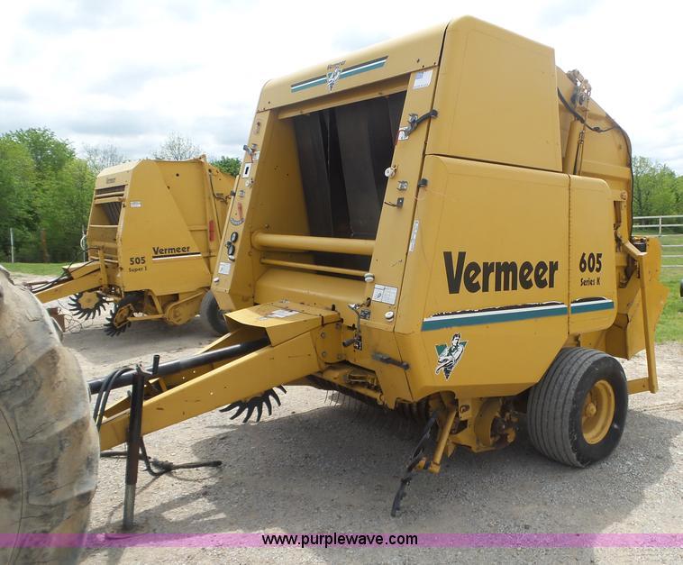 1995 vermeer 605k round baler item bz9551 sold may 25 a rh purplewave com vermeer 505 super i owner's manual vermeer 505 super i owner's manual