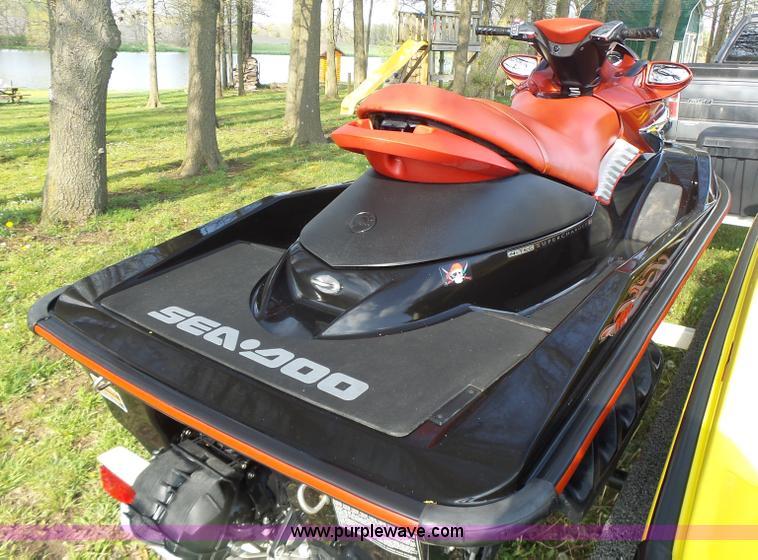 2006 SeaDoo RXP216C00 Personal Watercraft Item L6038 SOL