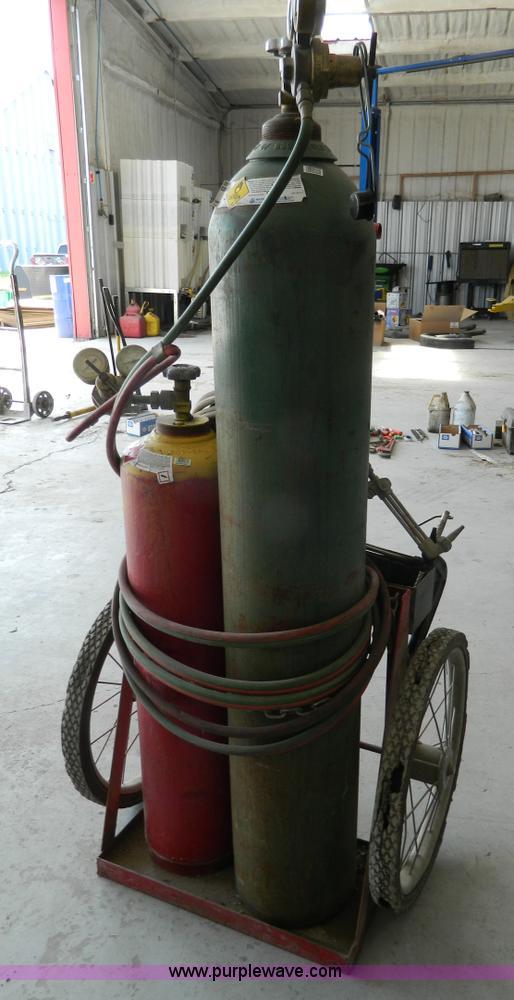 Lincoln Welders For Sale >> Oxygen/acetylene torch set | Item BI9865 | 6-2-2016