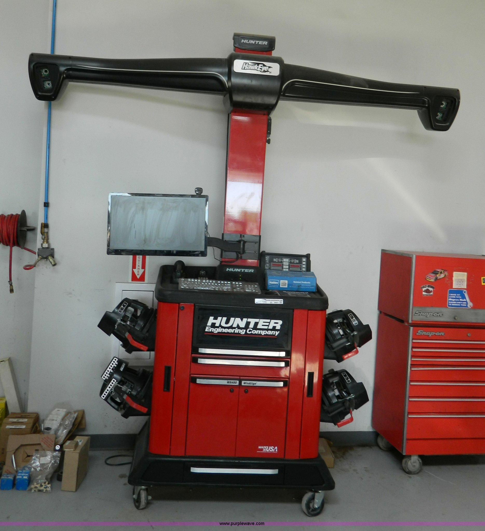 Wheel Alignment Machine >> 2015 Hunter Wheel Alignment Machine Item Bi9891 Sold Ju