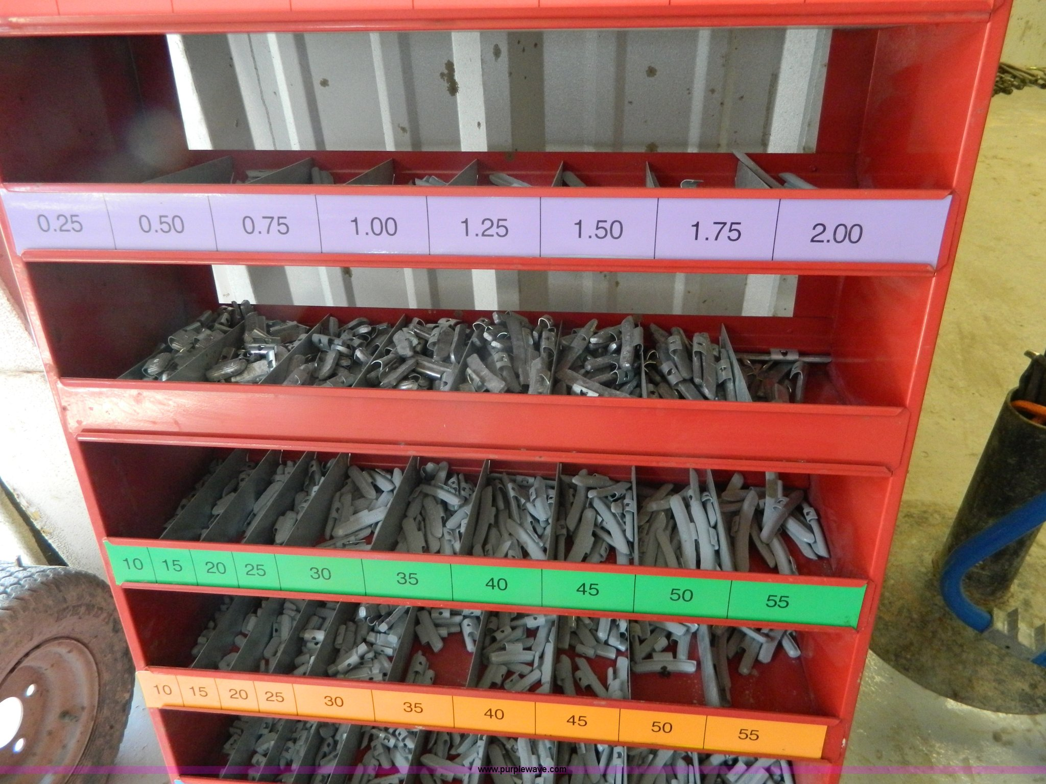 Bada Wheel Weight Assortment Item Bi9921 Sold June 2 Pr