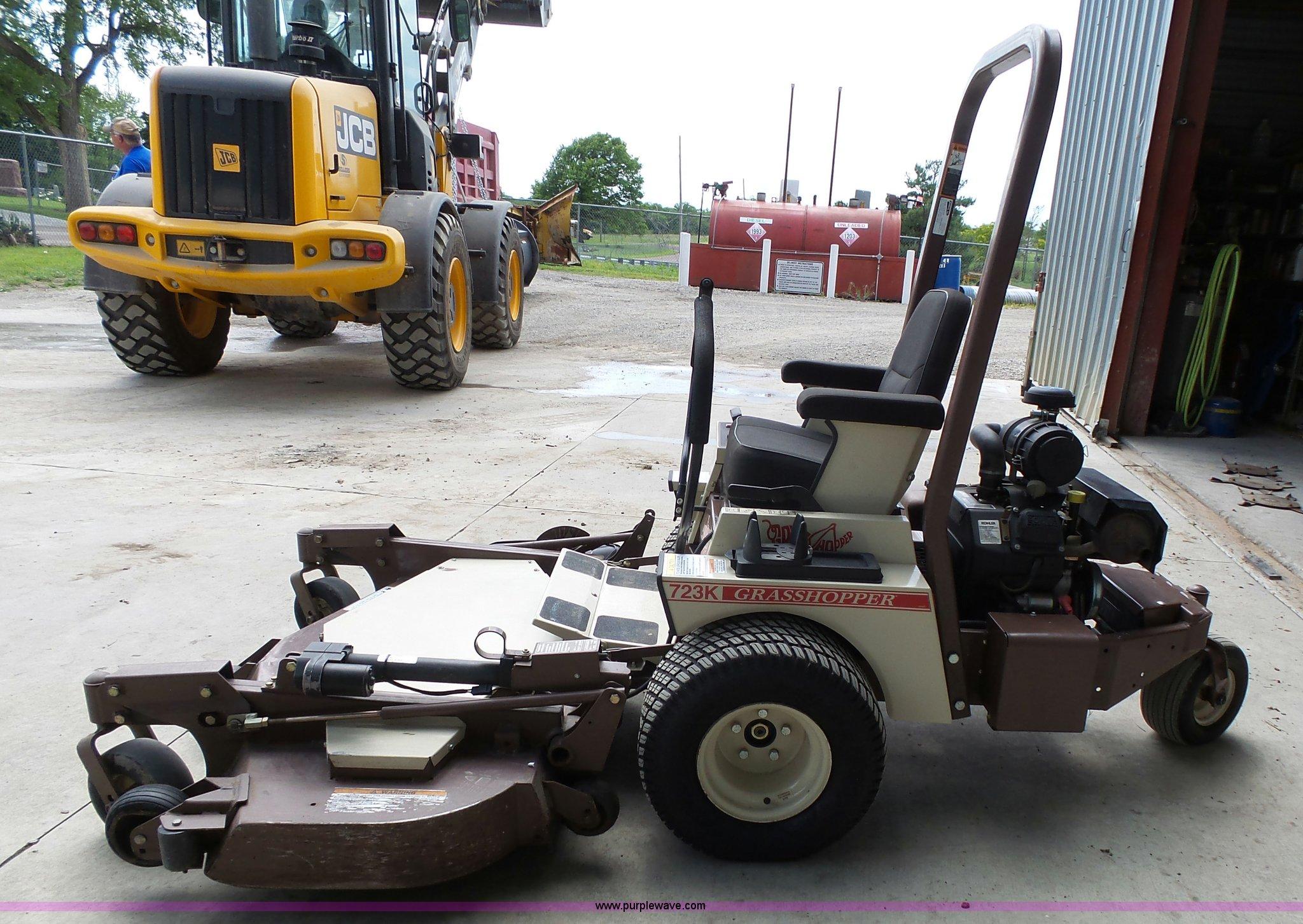 Grasshopper 723K ZTR lawn mower   Item BR9209   SOLD! June 7