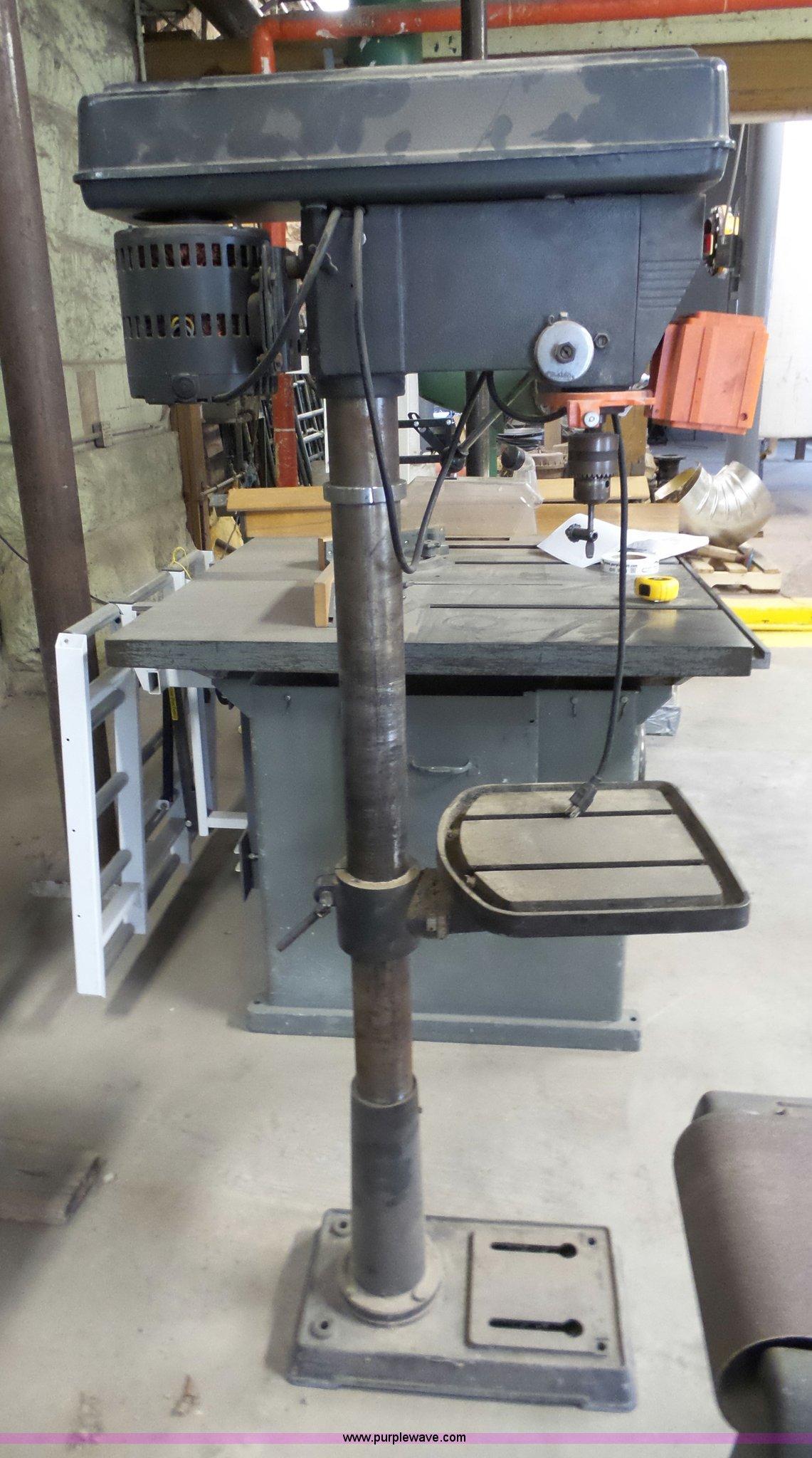 Craftsman drill press item br9235 sold june 7 for Manhattan motors manhattan ks