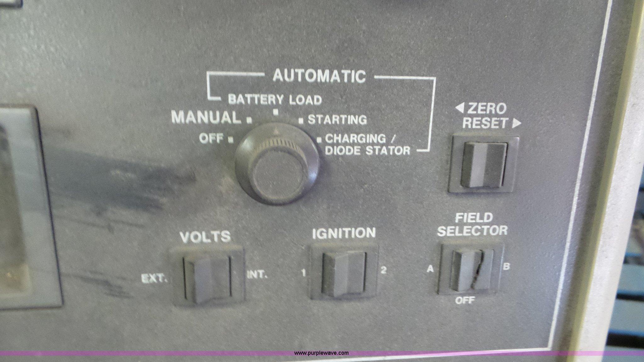 sun vat 60 carbon pile tester item l2111 sold june 7 go rh purplewave com Sun VAT 60 Battery Tester Sun VAT 45 Battery Tester