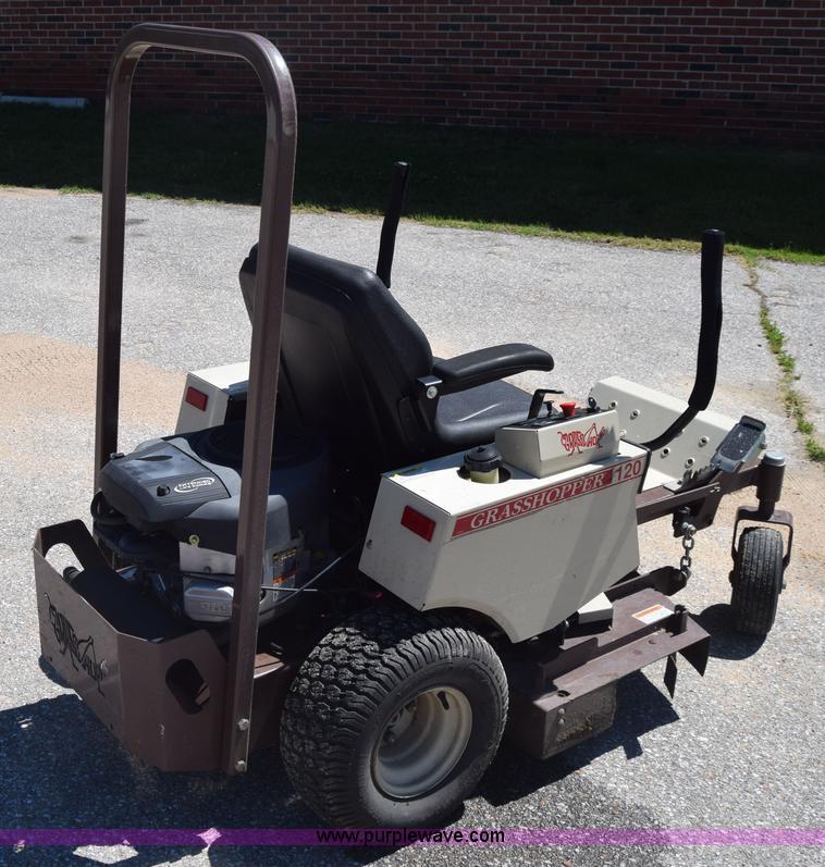 Grasshopper 120 ZTR lawn mower | Item K6630 | SOLD! June 15