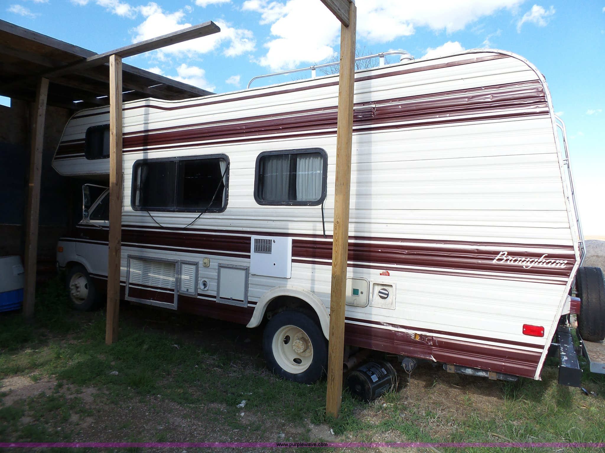 1979 Dodge Brougham Coach Sportsman camper | Item J4114 | SO