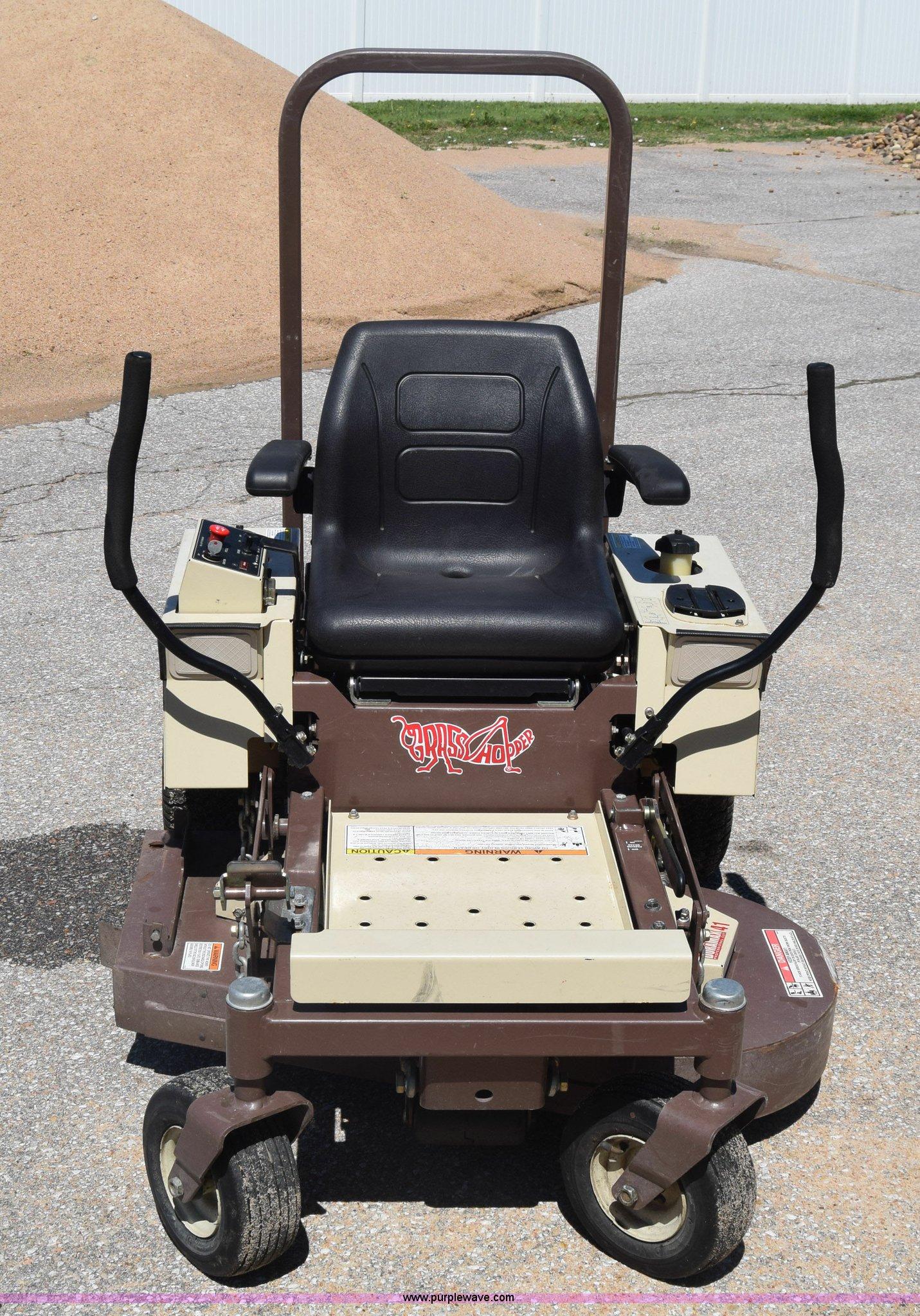 Grasshopper 120 ZTR lawn mower   Item K6630   SOLD! June 15