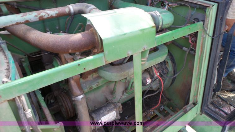 John Deere 466 Six Cylinder Turbo Diesel Engine Item BX908