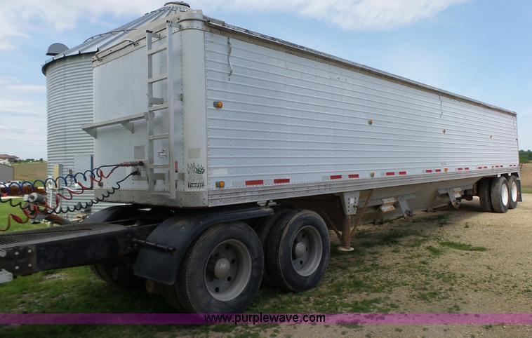 K2220 1996 timpte super hopper double hopper grain trailer item  at crackthecode.co