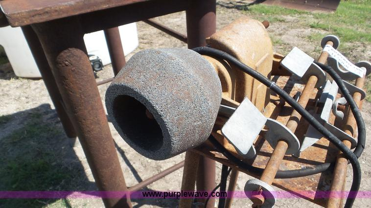 Sickle mower blade sharpener   Item CD9968   SOLD! June 30 C