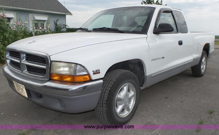 1998 Dodge Dakota Slt Ext Cab Pickup Truck Item K8361 S