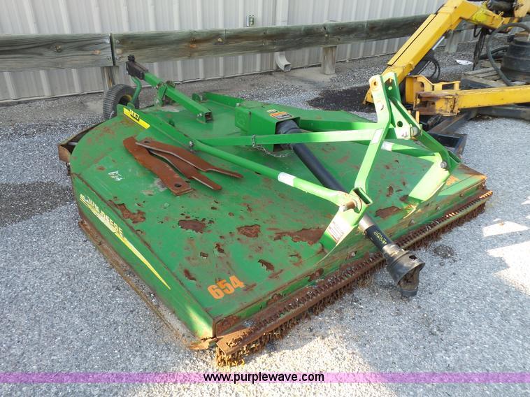 John Deere MX7 rotary mower | Item K6519 | SOLD! July 12 Gov