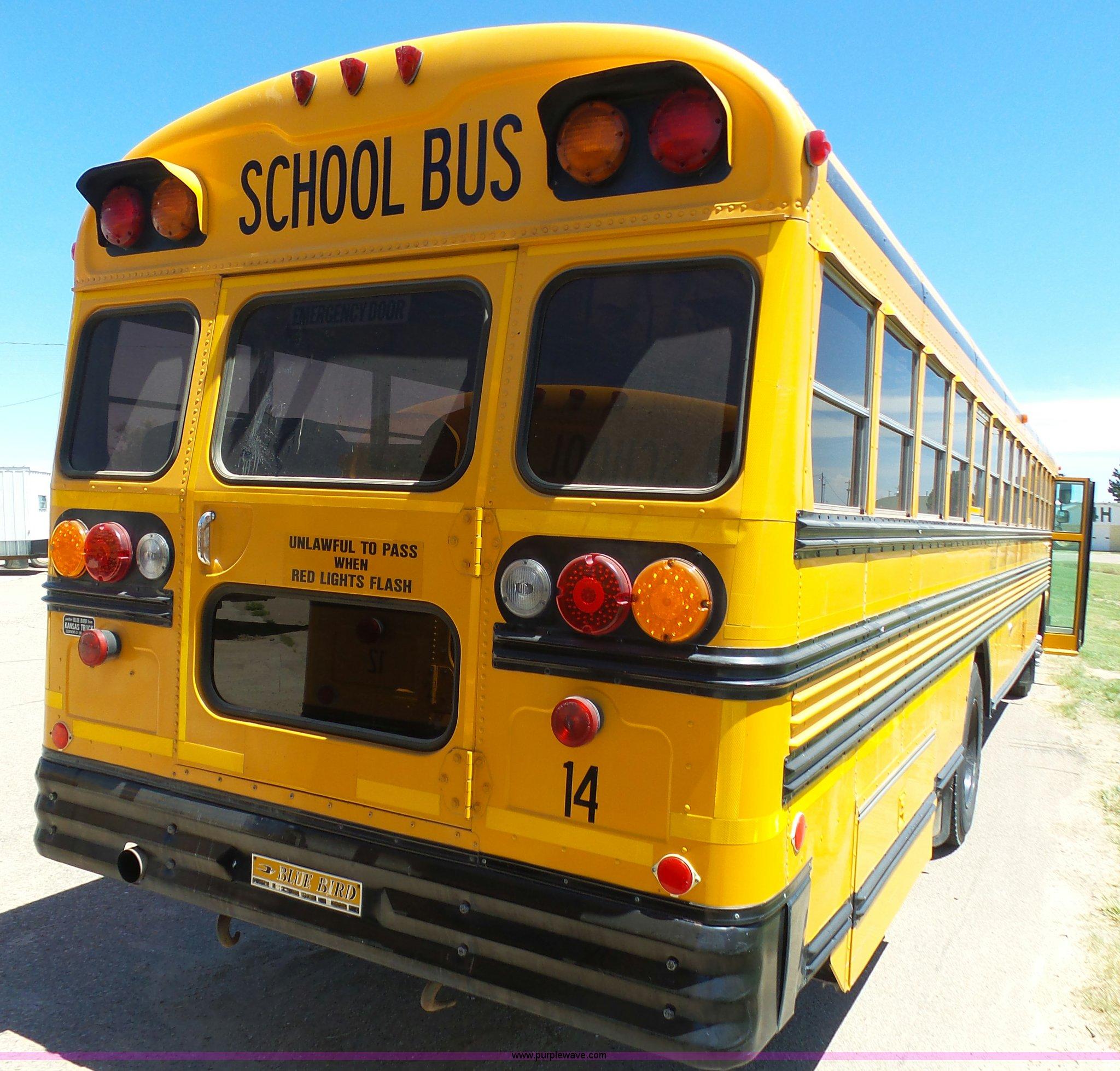 1992 Blue Bird Tc2000 School Bus Item J6118 Sold July