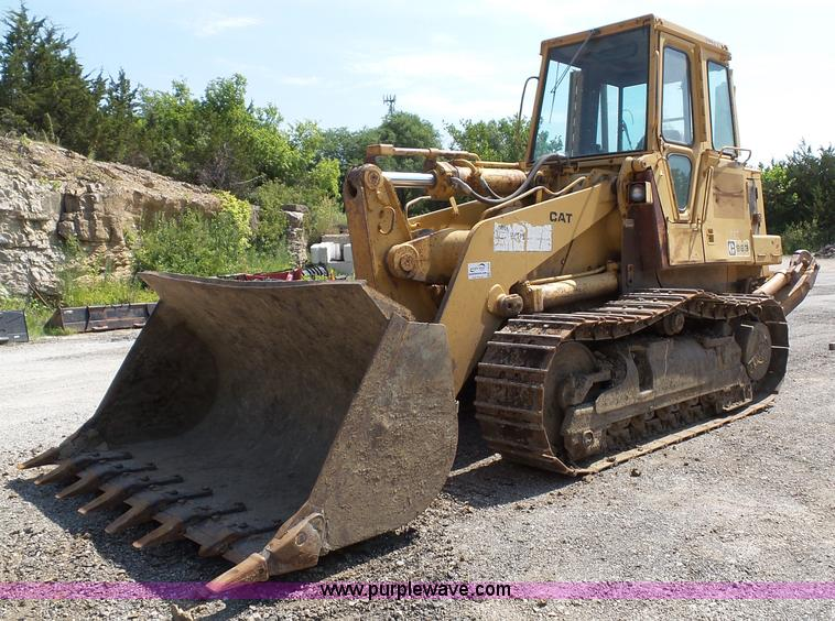 1986 Caterpillar 963 LGP track loader | Item J4878 | SOLD! J