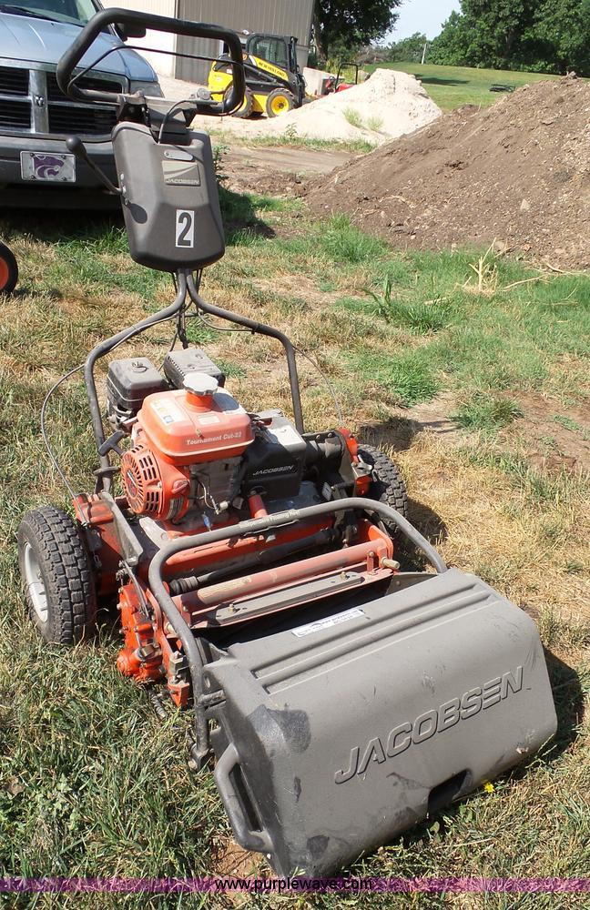 Jacobsen reel mower | Item BG9434 | SOLD! July 20 Vehicles a