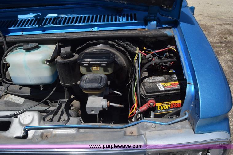 1989 gmc vandura 2500 engine