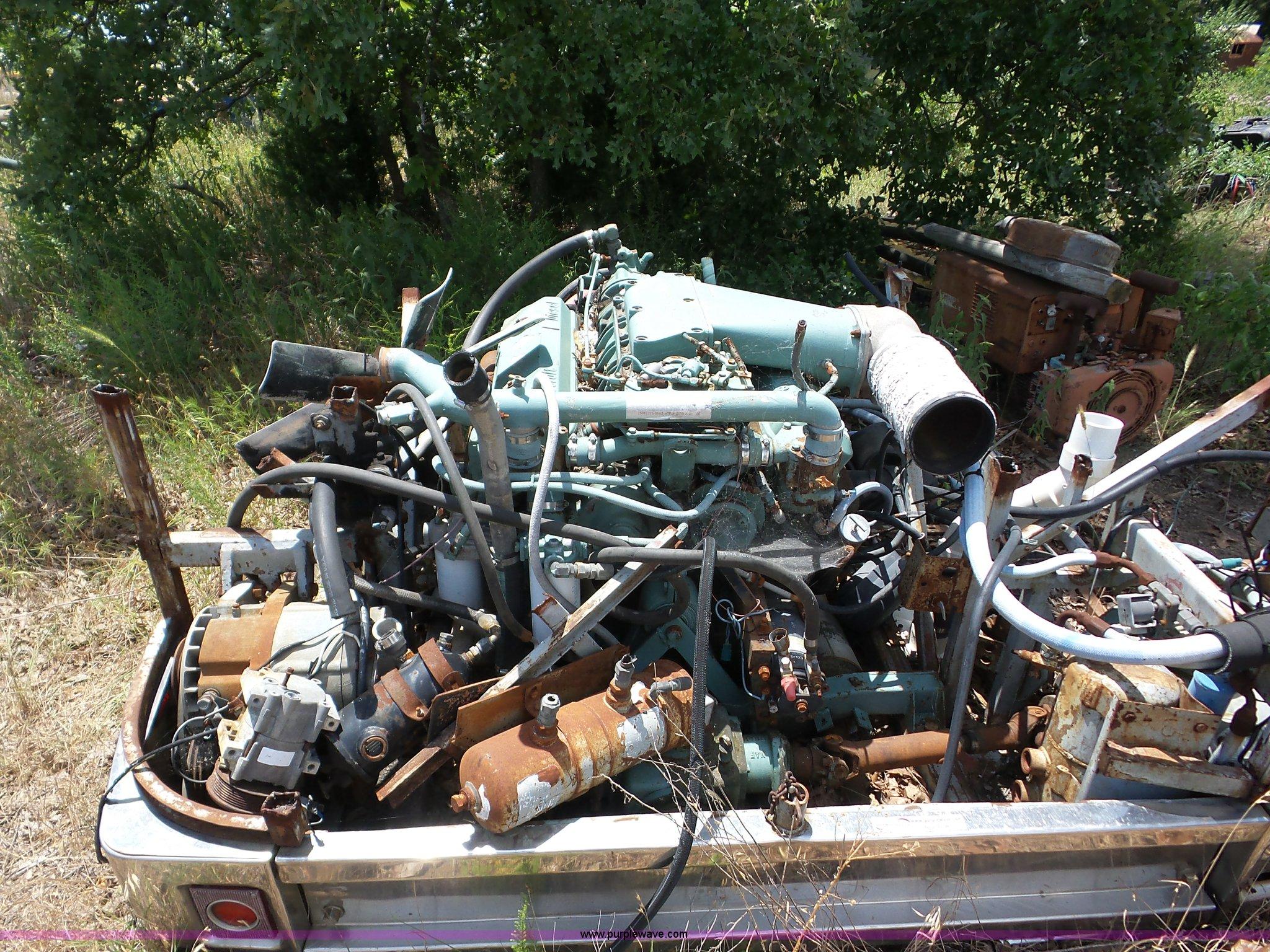 Detroit Diesel 8V71 diesel engine | Item AG9196 | SOLD! July