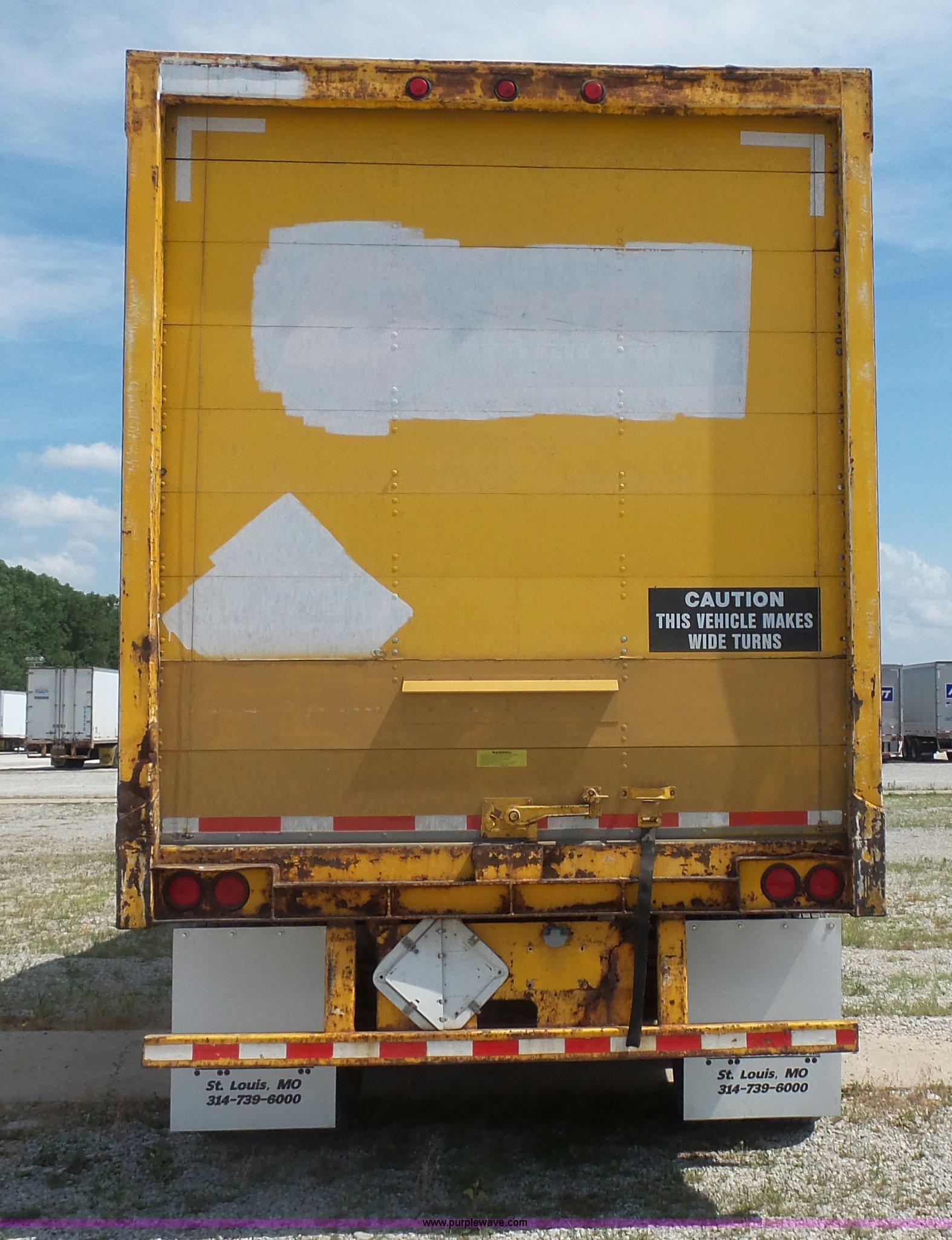 1995 Strick dry van trailer in St. Louis, MO   Item BS9848 ...