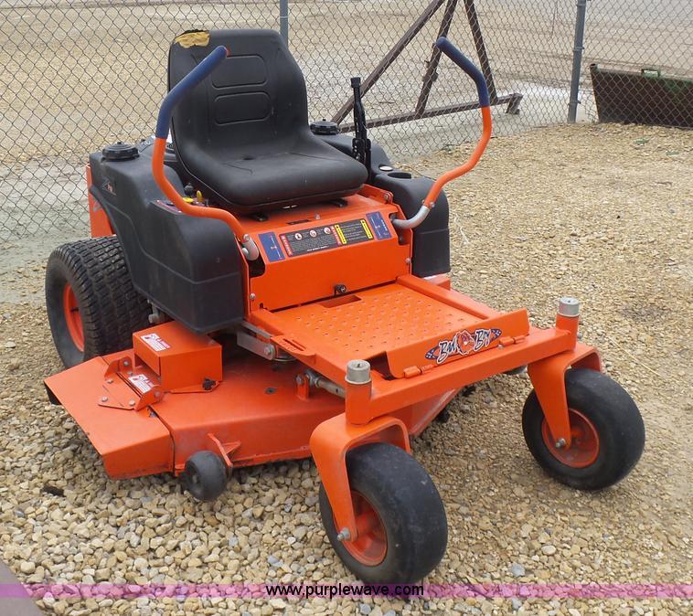 Pro Series Garden Tractor : Bad boy z pro series ztr lawn mower item k sold