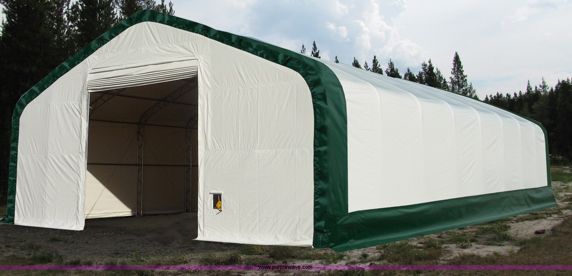 40' x 60' x 21' double truss storage building | Item F1527 |