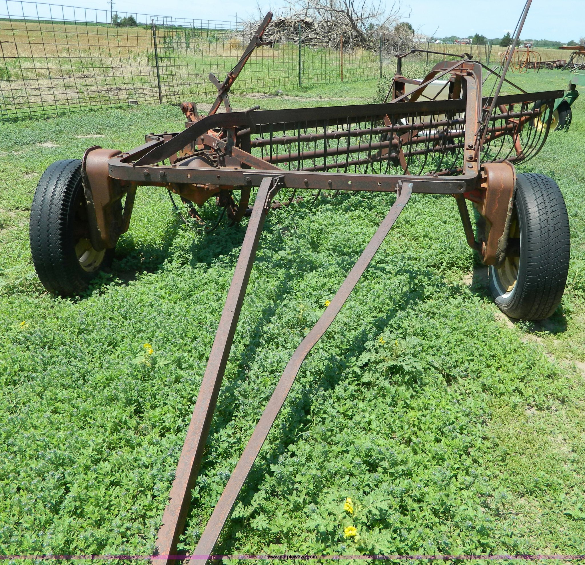 ... Massey-Harris 11 hay rake Full size in new window ...